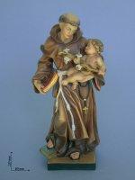 Statua Sant'Antonio con Gesù bambino di  su LibreriadelSanto.it