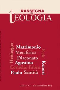 Copertina di 'Rassegna di Teologia n. 1/2014'
