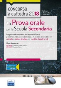 Copertina di 'CC 4/31 la prova orale per la scuola secondaria. Ambito 6. Con espansione online'