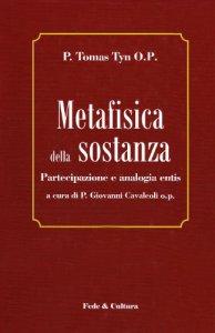Copertina di 'Metafisica della sostanza'