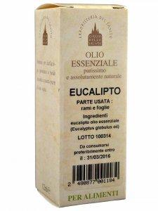 Copertina di 'Olio essenziale eucalipto 12 ml.'