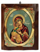 """Icona """"Maria odigitria"""" (cm 16 x 20)"""