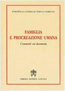 """Copertina di '""""Famiglia e Procreazione Umana"""". Commenti sul Documento'"""