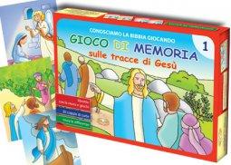 Copertina di 'Conosciamo la Bibbia giocando. Gioco di memoria sulle tracce di Gesù. Volume 1'