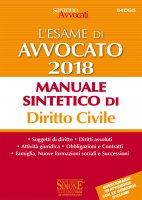 L'Esame orale di Avvocato 2018 - Manuale sintetico di Diritto Civile - Redazioni Edizioni Simone