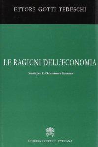 Copertina di 'Ragioni dell'economia'