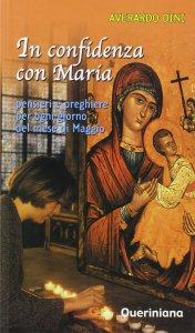 Copertina di 'In confidenza con Maria. Pensieri e preghiere per ogni giorno del mese di maggio'