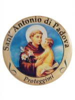 Adesivo Sant'Antonio di Padova (10 pezzi) di  su LibreriadelSanto.it