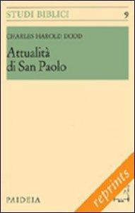 Copertina di 'Attualità di san Paolo'