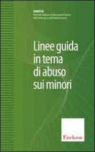 Copertina di 'Linee guida in tema di abuso sui minori'
