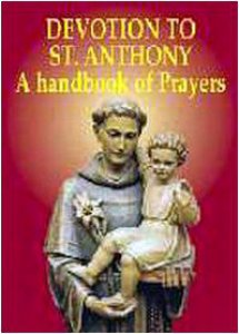 Copertina di 'Devotion to st. Anthony. A handbook of prayers'