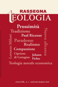 Copertina di 'Rassegna di Teologia n. 1/2018'