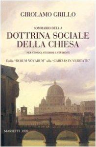 Copertina di 'Sommario della dottrina sociale della Chiesa per storici, studiosi e studenti'