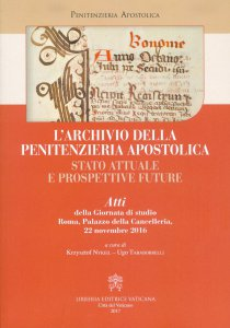 Copertina di 'L'archivio della penitenzieria apostolica'