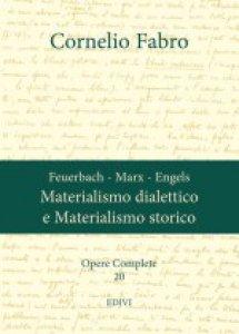 Copertina di 'Materialismo dialettico e Materialismo storico'