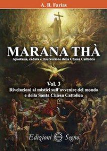 Copertina di 'Marana Thà. Apostasia, caduta e risurrezione della Chiesa cattolica'