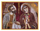 Tavola Presentazione al tempio Padre Rupnik stampa 5,5x7,5 cm - (Guadalajara)