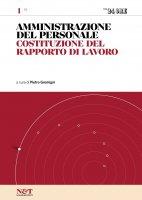 AMMINISTRAZIONE DEL PERSONALE 1 - Costituzione del rapporto di lavoro - Pietro Gremigni