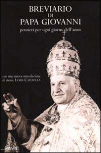 Copertina di 'Breviario di Papa Giovanni'