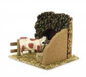 Immagine di 'Mucca Nella Stalla ? Bertoni presepe linea Natale'