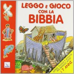 Copertina di 'Leggo e gioco con la Bibbia'