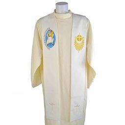 Copertina di 'Stola avorio con simbolo del Giubileo delle Misericordia'