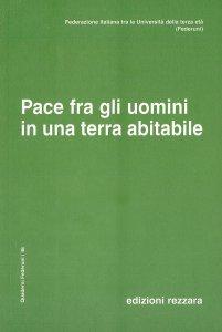 Copertina di 'Pace fra gli uomini in una terra abitabile'