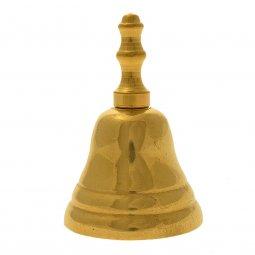 Copertina di 'Campanello in ottone dorato - altezza 10 cm'