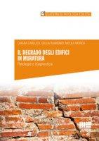 Il degrado degli edifici in muratura. Patologia e diagnostica - Carlucci Chiara, Raimondi Giulia, Mordà Nicola