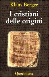 Copertina di 'I cristiani delle origini'