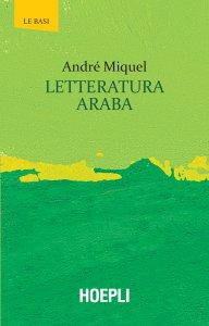 Copertina di 'Letteratura araba'