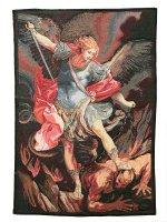 "Arazzo ""San Michele Arcangelo"" (49cm x 33cm) - Guido Reni"