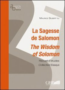 Copertina di 'La sagesse de Salomon. The wisdom of Salomon'