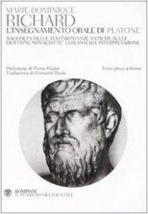 Copertina di 'L' insegnamento orale di Platone'