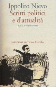 Copertina di 'Scritti politici e d'attualità'