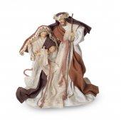"""Statua """"Natività"""" in resina e tessuto - altezza 22 cm"""