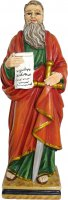 Statua San Paolo da 12 cm in confezione regalo con immaginetta di  su LibreriadelSanto.it