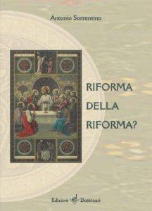 Copertina di 'Riforma della riforma?'