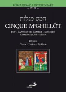 Copertina di 'Cinque Meghillòt'