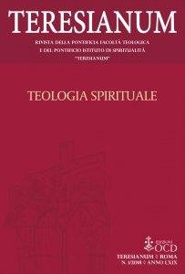 Copertina di 'Teresianum 1/2018. Teologia spirituale'