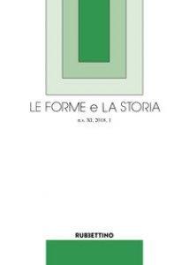 Copertina di 'Le forme e la storia (2018)'