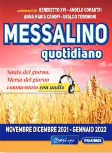 Copertina di 'Messalino quotidiano (Novembre-Dicembre 2021 Gennaio 2022)'