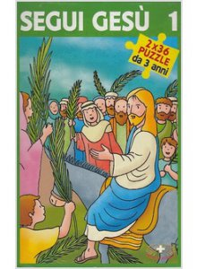Copertina di 'Segui Gesù 1 (libro + 2x36  puzzle)'