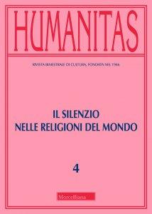 Copertina di 'Humanitas. 4/2019. Il silenzio nelle religioni del mondo'