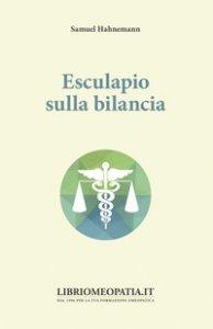 Copertina di 'Esculapio sulla bilancia'