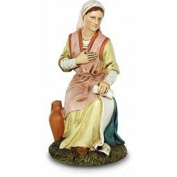 Copertina di 'Madonna seduta con brocca Linea Martino Landi - presepe da 50 cm'