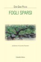 Fogli sparsi - Gino Piccio