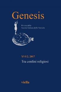 Copertina di 'Genesis. Rivista della Società italiana delle storiche (2017) Vol. 16/2'