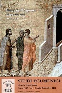 Studi Ecumenici -  2012 n.03