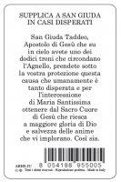 Immagine di 'Card San Giuda Taddeo della guarigione in PVC - 5,5 x 8,5 cm - Italiano'